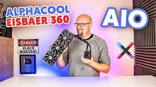 Alphacool Eisbaer 360 Black / NO I POZAMIATAŁ !