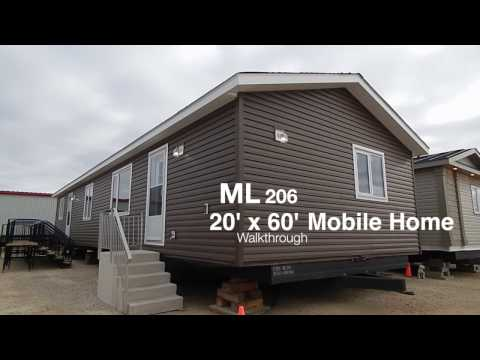 Mainline Series Mobile Home For Sale 20 X 60 Ft 2 Bedroom 2 Bath 1200 Sq Ft Youtube