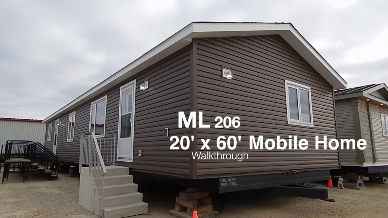 Mainline Series Mobile Home For Sale 20 X 60 Ft Youtube