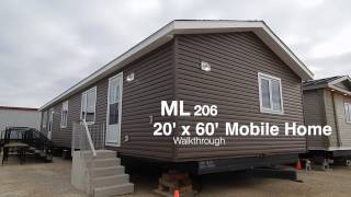 Mainline Series Mobile Home for Sale - 20 x 60 ft.