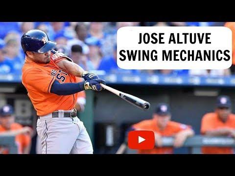 Jose Altuve Swing Mechanics Breakdown