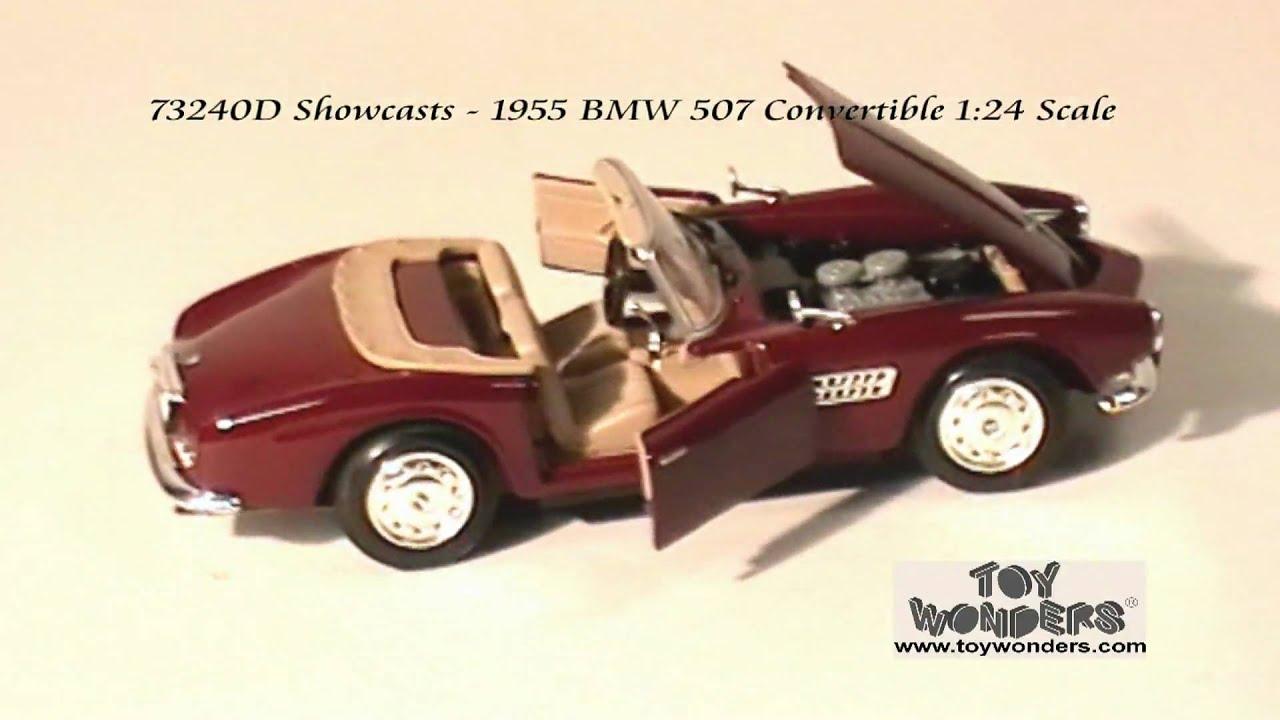 73240D-Showcasts-1955-BMW-507-Convertible-124-Diecast-Wholesale.mpg ...