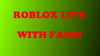 RANDOM ROBLOX GAMES!!! *ROAD TO 750 SUBSCRIBERS!*