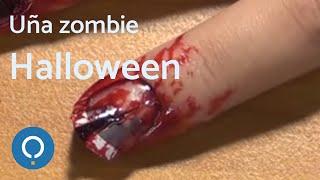 Hacer una uña levantada para Zombie - HERIDA en la MANO muy fácil