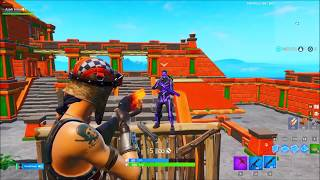 I went to RANDOM DUOS as NOSKIN and then showed RENEGADE RAIDER and that happened..! (Fortnite)