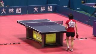 Table Tennis Japan Top 12;Kasumi Ishikawa vs Sakura Mori 2013.2.24