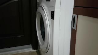 Yeni Samsung Çamaşır Makinesinden Gelen Vurma Sesi