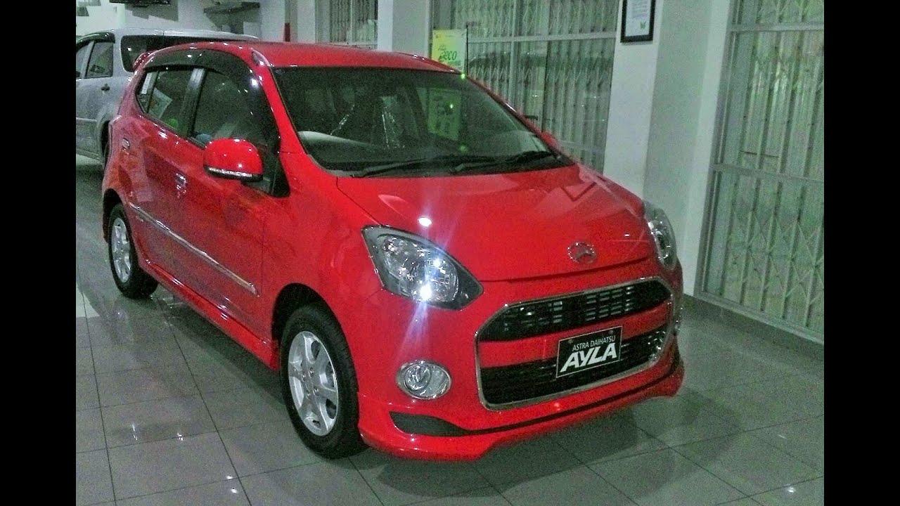 Gambar Modifikasi Toyota Agya Warna Merah Terlengkap Modifikasi
