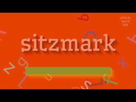 "How to say ""sitzmark""! (High Quality Voices)"
