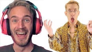 PewDiePie ROAST my Pen Pineapple Apple Pen  ✒🍍🍎✒ PPAP