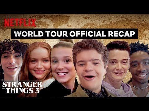 Stranger Things 3 Cast World Tour