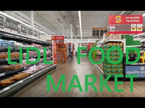 Tour Of Lidl Food Market In Plainview, Long Island