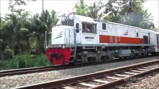 Fajar Utama Yogya Melintasi Daerah Karanggandul (Daerah Operasi 5 Purwokerto).