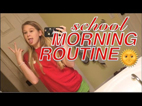 MORNING ROUTINE (FOR SCHOOL!) - 8th Grade