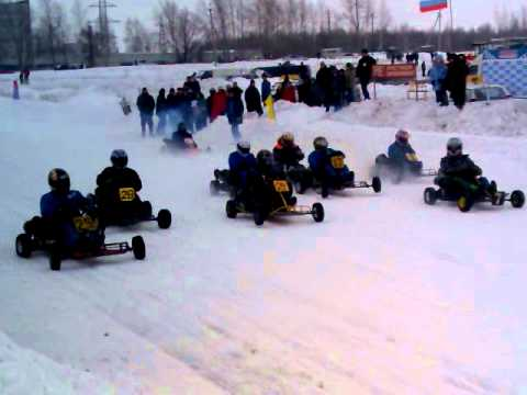 Картинг в Новомичуринске 2011