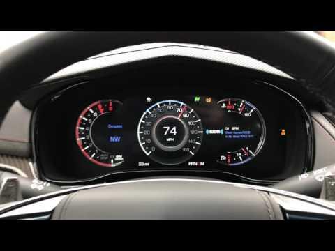 2017 Cadillac CTS 3.6 AWD 0-60 Acceleration
