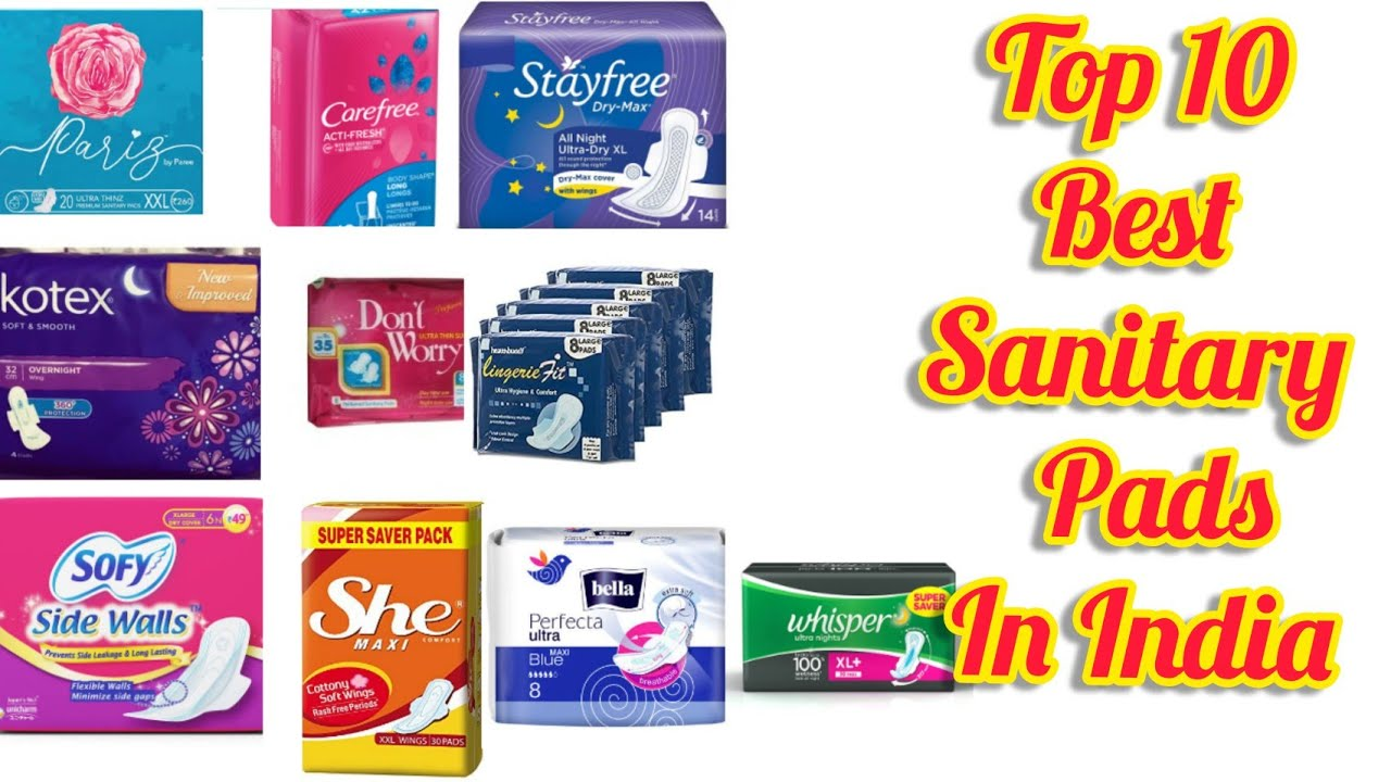 Download Top 10 Best Sanitary Napkins Brands in India||10 Sanitary Pads in India Ranked From worst to Best||