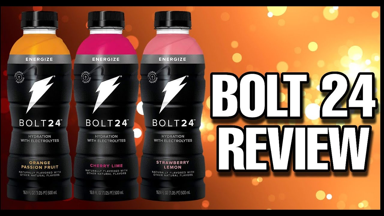 Bolt 24 Fueled By Gatorade Review Youtube