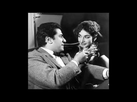 """Giuseppe Di Stefano & Maria Callas """"Lucia, perdona"""" Lucia di Lammermoor"""