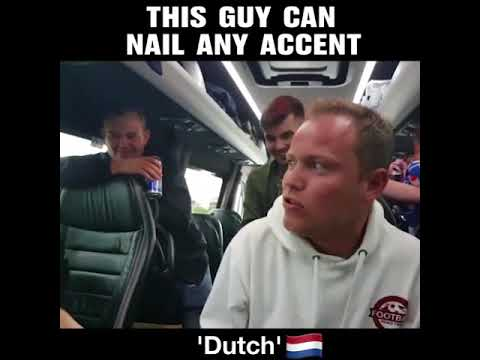 Guy Nails South African Accent