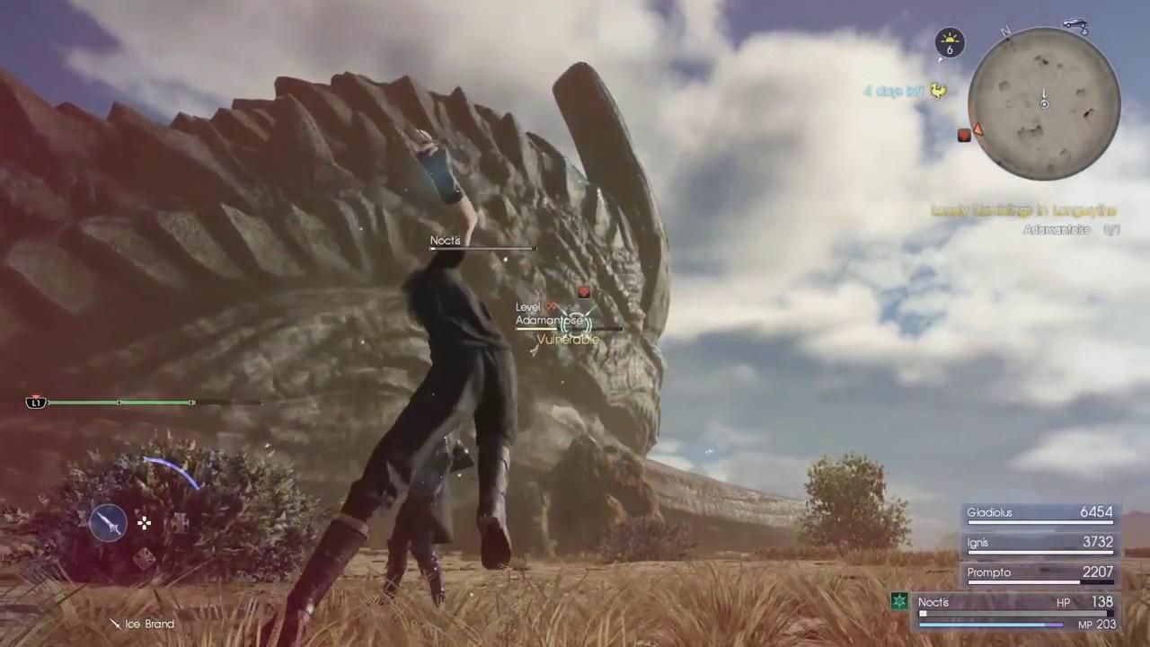 Final Fantasy XV PC Gameplay - YouTube
