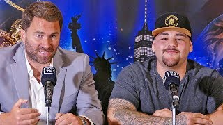 Anthony Joshua NEW OPPONENT!!  ANDY RUIZ JR FULL PRESS CONFERENCE | Matchroom Boxing