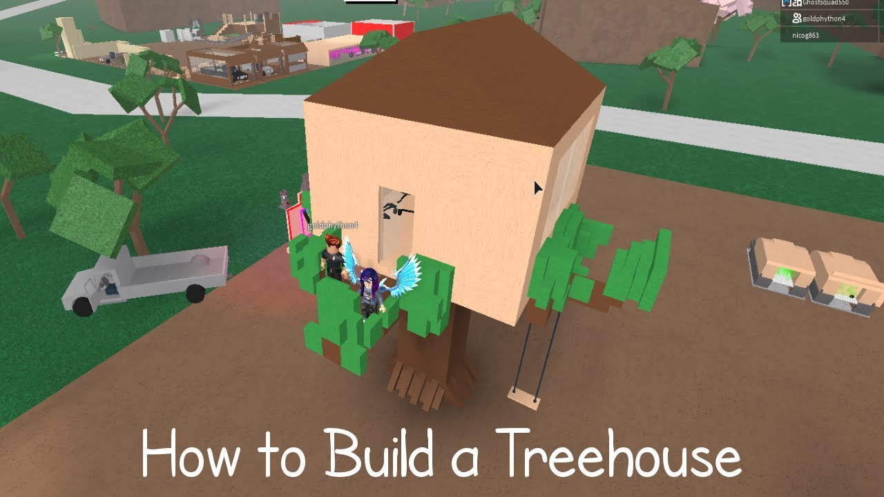 lumber tycoon 2 how to build a treehouse youtube. Black Bedroom Furniture Sets. Home Design Ideas