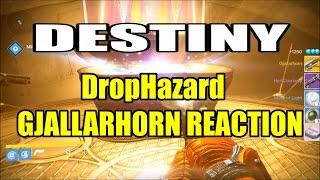 Gjallarhorn Reaction (DropHazard) | DESTINY