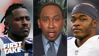 Stephen A. reacts to an NFL executive comparing Amari Cooper to Antonio Brown | First Take