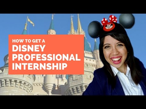 Disney Professional Internships & How to Get One | Olaf and Olivia