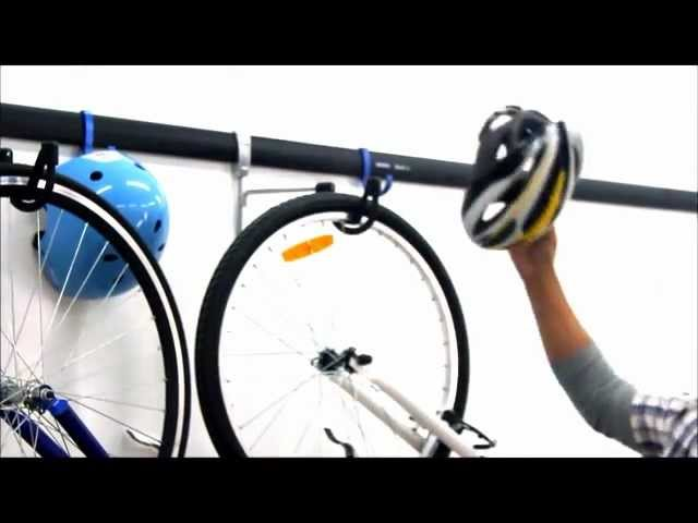 Installing our UltraFlex Bike Rack