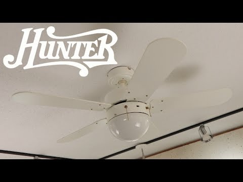 626 CEC Six Blade GE Vent Ceiling Fan HD Remake