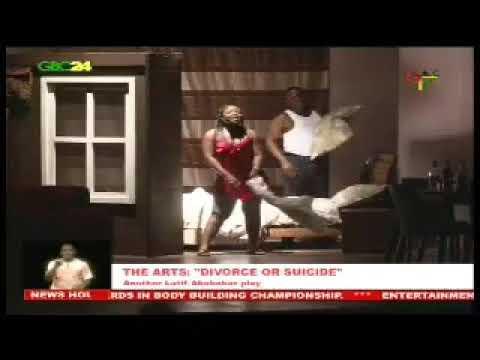 Latif Abubakar's Divorce Or Suicide Play  Premiere (Ghana Broadcasting Corporation)
