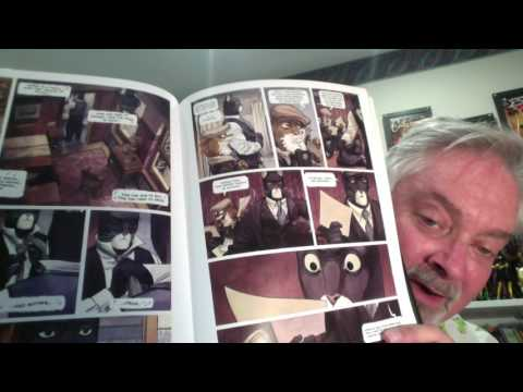Hidden Gem Comics: Grandville, Blacksad, Wizard's Tale, Too Cool, Feathers