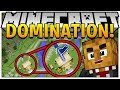 BRAND NEW MINECRAFT MODDED MINIGAME - TECH GUNS DOMINATION w/ OP WEAPONS MOD