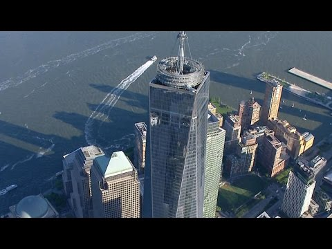 """""""CBS This Morning"""" hosts atop One World Trade Center"""