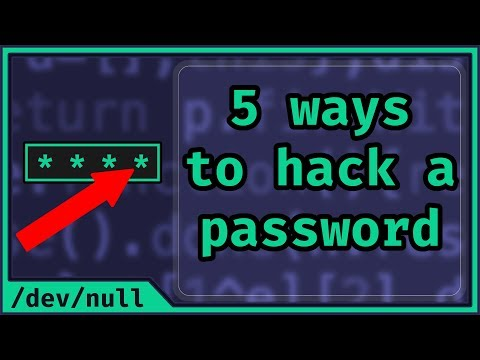 5 Ways To Hack A Password (Beginner Friendly)