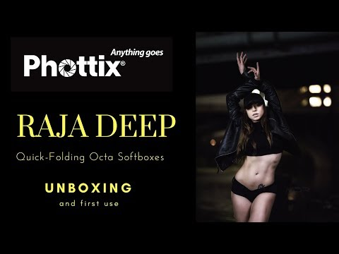 New Phottix Deep Raja Quick Folding Softboxes: Unboxing And First Impressions