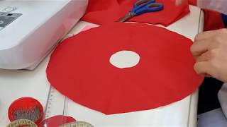 Volan Nasıl Dikilir? - How to make flywheel with sewing machine? | Dikiş Hocam