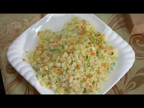 Как сделать рис с яйцом по китайски