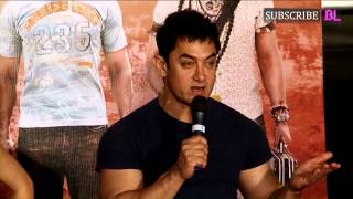 PK's Aamir Khan denies aping Shah Rukh Khan from My Name IsKhan!