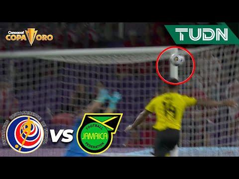 ¡NO PUEDE SER! ¡Tres veces al POSTE!   Costa Rica 0-0 Jamaica   Copa Oro 2021   Grupo C   TUDN
