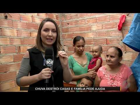 JMD (04/12/19) - Família de Aragoiânia pede ajuda para reconstruir casa