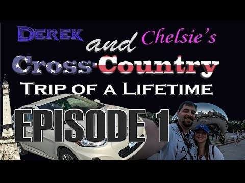 Derek and Chelsie's Cross Country Trip - EPISODE 1: INDY AND CHICAGO!