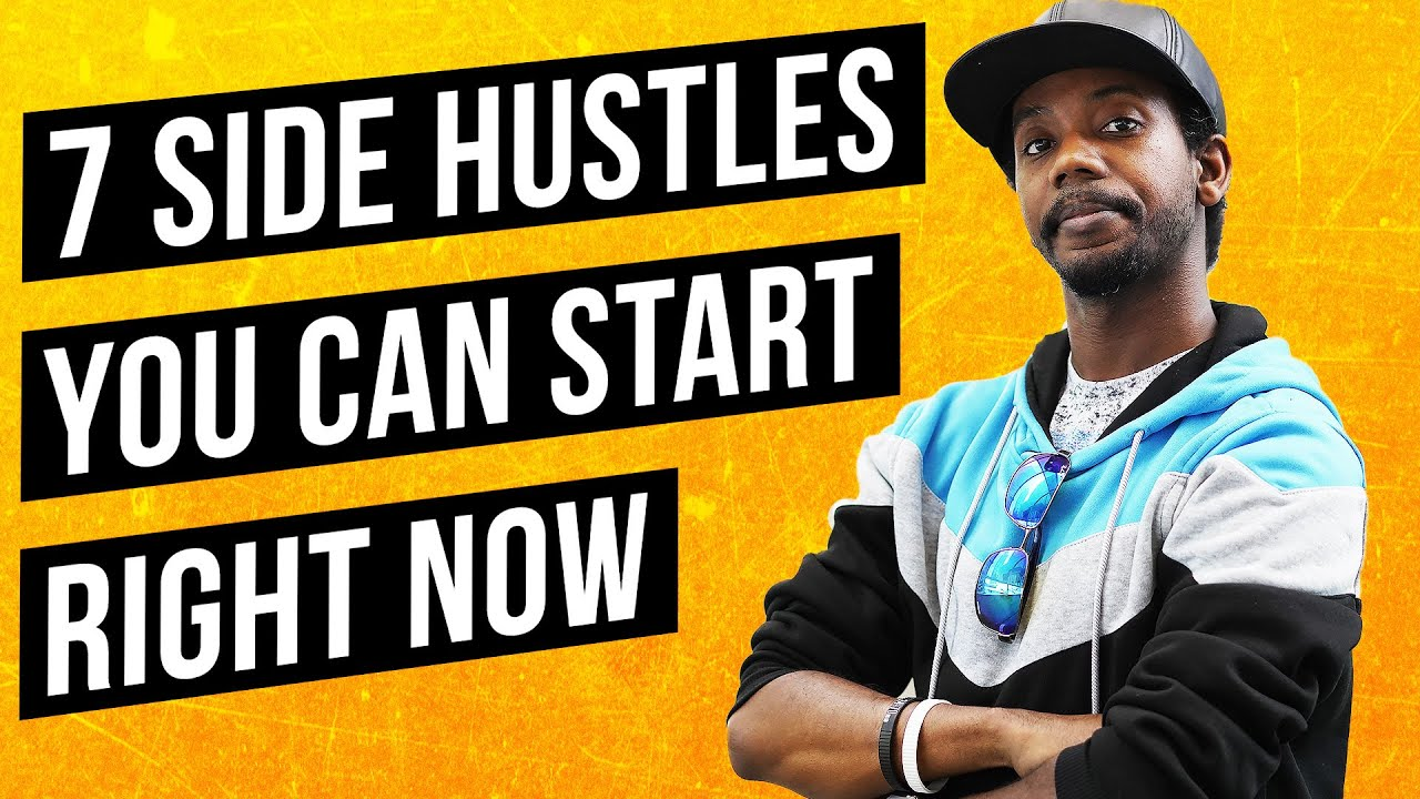 Best Side Hustles 2020.7 Side Hustles You Can Start Today How To Make Money Online 2020