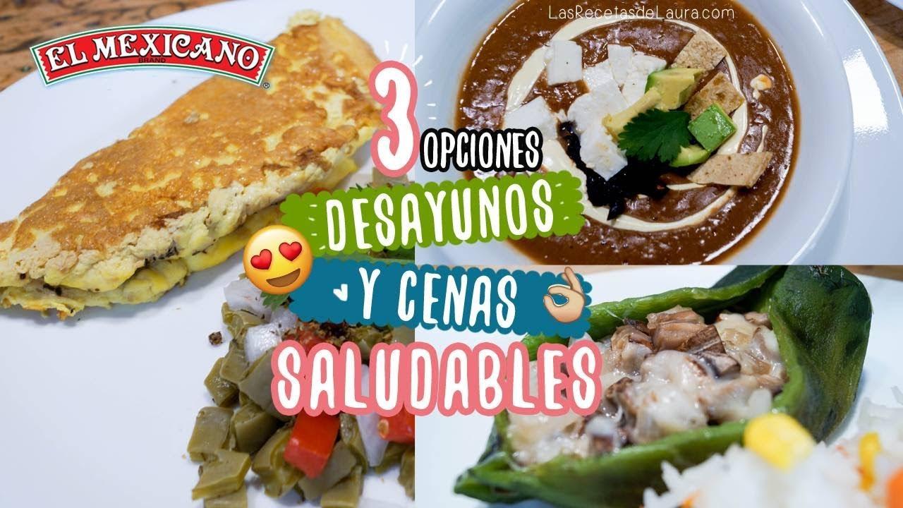 3 desayunos o cenas r pidas y saludables comidas for Cenas rapidas y economicas
