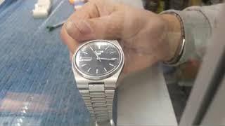 Замена стекла в часах  SEIKO (Ремонт часов ,плоское стекло)