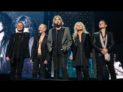 DEF LEPPARD -  Joe Elliott's COMPLETE Rock & Roll Hall of Fame Induction Speech