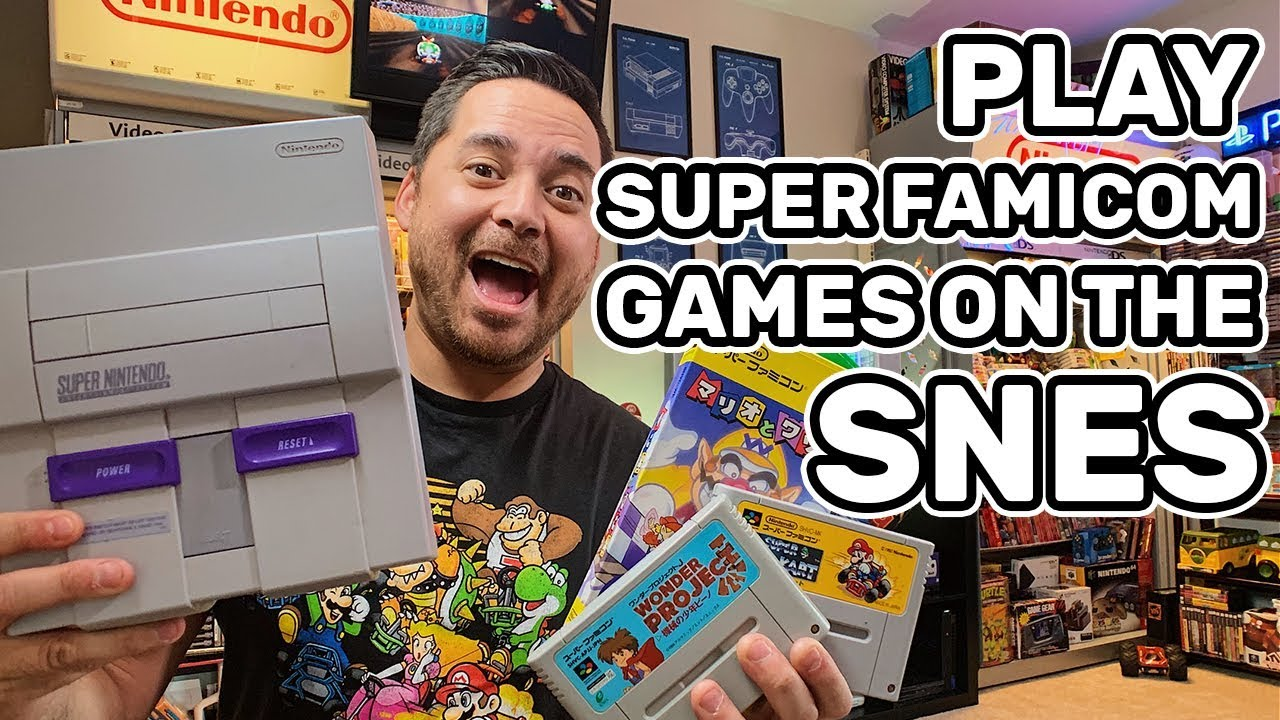 HOW TO PLAY SUPER FAMICOM GAMES ON YOUR SUPER NINTENDO!