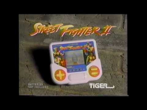 Street Fighter II Tiger Handheld Commercial